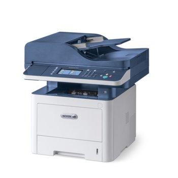 Мултифункционално лазерно устройство Xerox WorkCentre 3345V_DNI, монохромен, принтер/копир/скенер/факс, 1200x1200, 40стр/мин, Lan, Wi-Fi, USB, A4 image