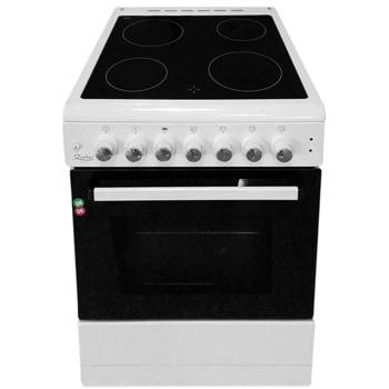 Готварска печка ZEPHYR ZP 1441 4GC60F, 4 нагревателни зони, 58 л. обем, бяла image