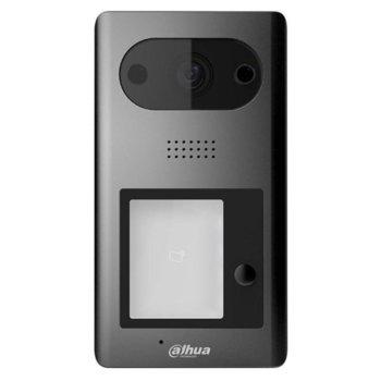"Видеодомофон Dahua VTO3211D-P1-S2, за 1 абонат, ICR 1/2.8"" CMOS camera с вградена подсветка, H.264/G.711, 1x 10/100 Ethernet port, POE 802.3af, IP65/IK08 image"