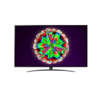 "Телевизор LG 49NANO813NA, 49"" (124.46 cm) 4K/UHD HDR Smart TV, DVB-T2/C/S2, Wi-Fi, LAN, Bluetooth, 4x HDMI, 2x USB, енергиен клас G image"