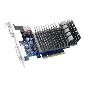 Видео карта GF GT 710, 1GB, Asus 710-1-SL, PCI-E 2.0, DDR3, 64 bit, HDMI, DVI image