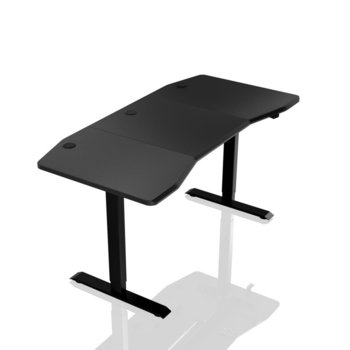 Компютърно бюро Nitro Concepts D16E, 160 x 80cm, електрическо управление на височина, до 70 кг. натоварване, черно image