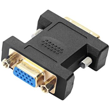 Преходник Speedlink, от DVI D(м) към VGA(ж), черен image