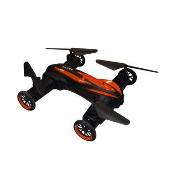 Дрон Privileg LH-X21, тип летящ/наземен, 2.4GHz, 7-8 минути активност, LED, черен image