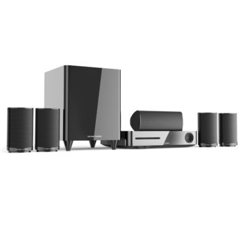 Soundbar система за домашно кино Harman Kardon BDS 635, 5.1, безжична, Bluetooth, WiFi, HDMI, USB, ARC, RMS(5x50W +100W), черна image