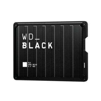 Твърд диск 5TB, Western Digital P10 Game Drive, черен, външен, USB 3.2 Gen 1 image