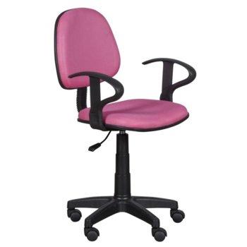 Детски стол Carmen 6012 MR, мрежа, полипропиленова база, газов амортисьор, розов image
