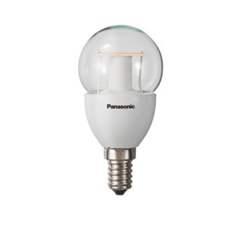 LED крушка Panasonic LDGHV5L27CGE14EP, E14, Ping Pong, (5W), 330lm, 2700K image