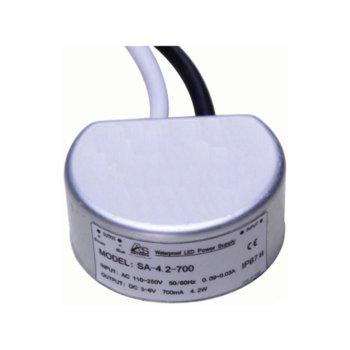 LED захранване ORAX SA-4-350, 4.2W, 5-12V DC, 350mA image