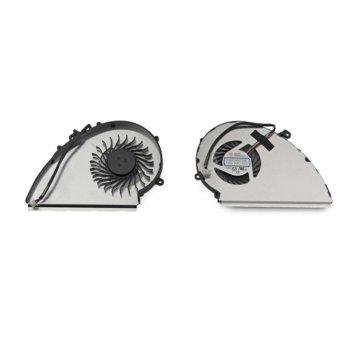 Вентилатор за MSI GE72VR, GP72VR, GP72MVR, за видеокарта, 4pin, 5V - 0.55A image