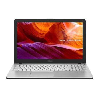 "Лаптоп Asus X543MA-WBC15C (90NB0IR6-M20700)(сив), двуядрен Gemini Lake Refresh Intel Celeron N4020 1.1/2.8 GHz, 15.6"" (39.62 cm) Full HD Anti-Glare Display, 4GB DDR4, 256GB SSD, 1x USB 3.1 Type-A, No OS  image"