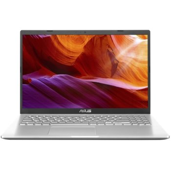 "Лаптоп Asus VivoBook M509DA-WB305 (90NB0P51-M15020)(сребрист), двуядрен Zen 2 AMD Ryzen 3 3200U 2.6/3.50 GHz, 15.6"" (39.62 cm) Full HD Anti-Glare Display, (HDMI), 4GB DDR4, 256GB SSD, 1x USB 3.1 Type C, No OS image"