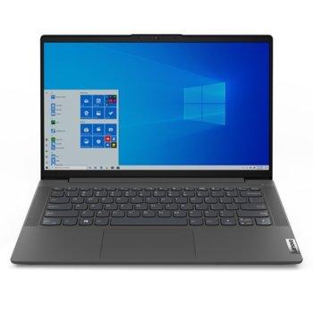 """Лаптоп Lenovo IdeaPad 5 14ARE05 (81YM0046BM), шестядрен AMD Ryzen 5 4500U 2.3/4.0GHz, 14"""" (35.56 cm) Full HD PS 300nits Anti-Glare Display, (HDMI), 8GB DDR4, 512GB SSD, 1x USB-C, No OS  image"""