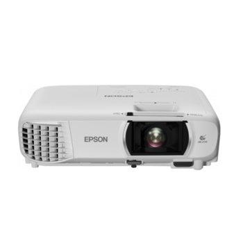 Проектор Epson EH-TW750, 3LCD, Full HD (1920 x 1080), 16 000 : 1, 3400 lm, HDMI, VGA, Wi-Fi image