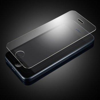 Протектор от закалено стъкло /Tempered Glass/ за iPhone 5 5G 5C 5S, прозрачно image