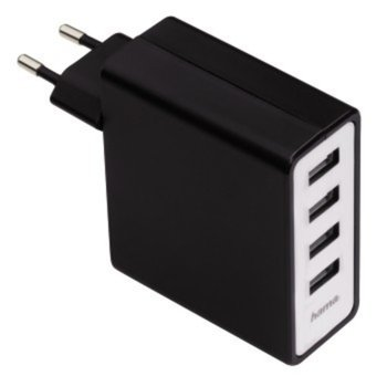 "Зарядно устройство HAMA ""Auto Detect"", 4х USB, 5V/5.1A image"