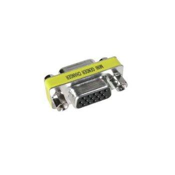 Преходник VCom CA082, VGA (ж) към VGA (ж), позлатени конектори  image