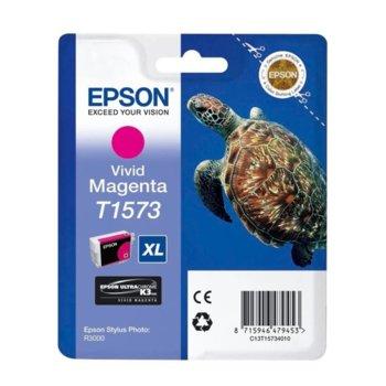 ГЛАВА ЗА EPSON STYLUS PHOTO R3000 - Vivid Magenta - P№ C13T15734010 - заб.: 25.9ml. image