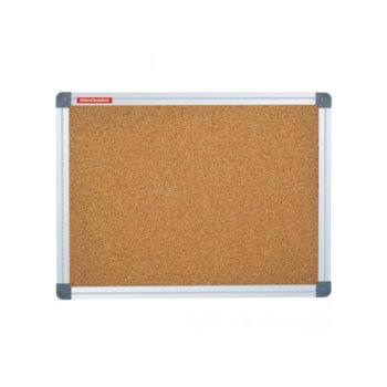 Коркова дъска Memoboards, с алуминиева рамка, размер 1200x2400 mm, кафява image