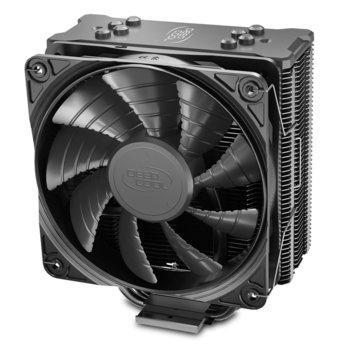 Охлаждане за процесор DeepCool GAMMAXX GTE V2 BLACK, съвместимост със сокети LGA 1200/1150/1151/1155/1156/1366 & AMD AM4/AM3+/AM3/AM2+/AM2/FM2+/FM2/FM1 image