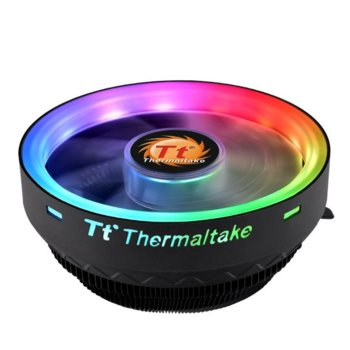 Охлаждане за процесор Thermaltake UX100 ARGB CL-P064-AL12SW-A, Intel LGA 1156/1155/1151/1150/775, AMD AM4/FM2/FM1/AM3+/AM3/AM2+/AM2 image