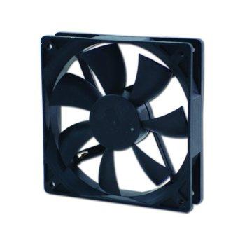Вентилатор 120мм, EverCool EC12025M12BA 2Ball, 3 Pin Molex, 2000rpm image