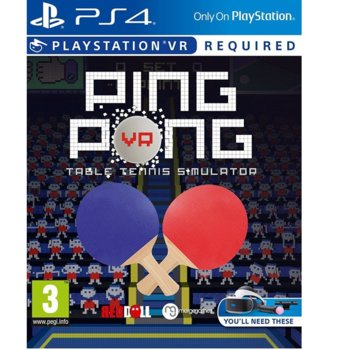 Ping Pong VR product