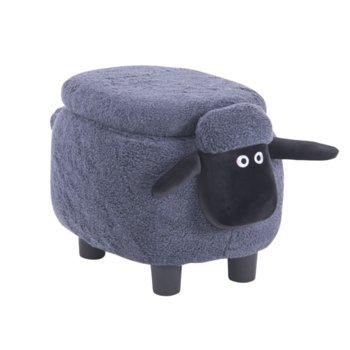 Табуретка Carmen, сива овца image