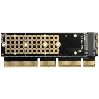 Контролер AXAGON PCEM2-1U, от PCIe 4x/8x/16x към M.2 (NVMe) SSD, за 2230/2242/2260/2280 image