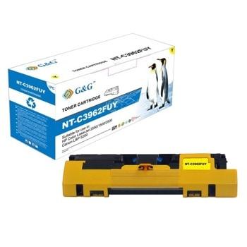 Тонер касета за HP COLOR LASER JET 2550/1500/2500, Yellow, - Q3962A/C9702A - G&G - неоригинален, Заб.: 4000 брой копия image