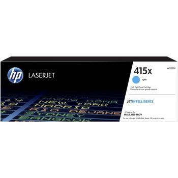 Тонер касета за HP LJ M454/HP LJ MFP M479, Cyan, - W2031X - HP - Заб.: 6000 к image