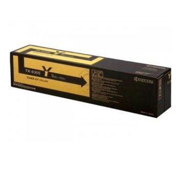 Kyocera (1T02LKANL0) Yellow CON101KYOTK5140Y product