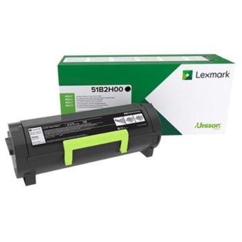 КАСЕТА ЗА Lexmark MX417de/MX517de/MX617de/MS417dn/MS517dn/MS617dn - P№ 51B2H00 - Заб.: 8500k image