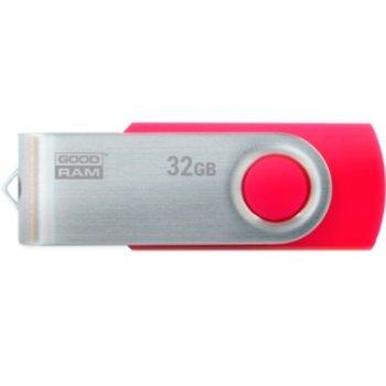 Памет 32GB USB Flash Drive, Goodram UTS3-0320R0R11, USB 3.1 Gen 1, червена image