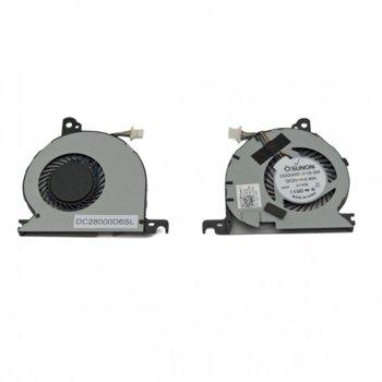 Вентилатор за Dell Latitude E7240, 4 pin, 5V - 0.4A image