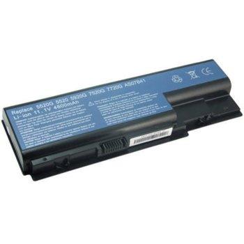 Батерия (заместител) за лаптоп Acer, съвместима със серия Aspire 5520 5710 5720 5920 6920 6930 7520 8930 - 8 cell 14.8V 4800mAh image