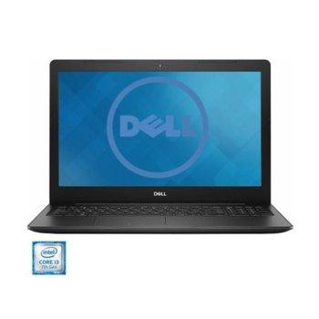 "Лаптоп Dell Inspiron 3584 (DI3584I341UMAUBU), двуядрен Kaby Lake Intel Core i3-7020U 2.3 GHz, 15.6"" (39.62 cm) Full HD Anti-Glare Display, (HDMI), 4GB DDR4, 1TB HDD, 2x USB 3.1, Ubuntu, 1.9 kg image"
