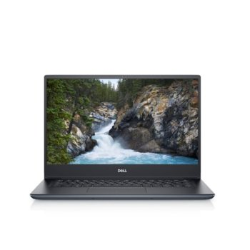 "Лаптоп Dell Vostro 5490 (N4109VN5490EMEA01_2005_WIN1-14)(сив), четириядрен Comet Lake Intel Core i7-10510U 1.8/4.9 GHz, 14"" (35.56 cm) Full HD Anti-Glare Display & MX250 2GB, (HDMI), 16GB DDR4, 128GB SSD & 1TB HDD, Windows 10 Pro image"