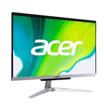 "All In One компютър Acer Aspire C22-963 AiO (DQ.BENEX.003), двуядрен Ice Lake Intel Core i3-1005G1 1.2/3.4 GHz, 21.5"" (54.61 cm) Full HD LED-Backlit Display, (HDMI), 8GB DDR4, 1TB HDD, 4x USB 3.1, клавиатура и мишка, No OS  image"
