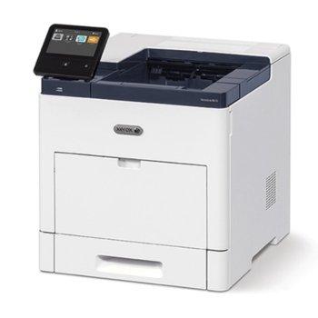 Лазерен принтер Xerox B600V/DN + подарък тонер 106R03941, монохромен, 1200 x 1200 dpi, 55 стр/мин, Lan1000, USB 3.0, A4 image