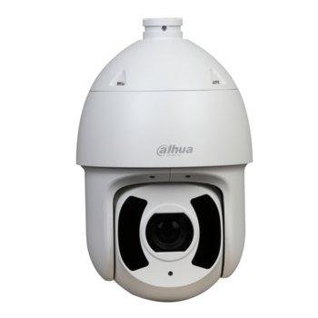 IP камера Dahua SD6CE230U-HNI, PTZ камера, 2 МPix(1080P(1920x1080)/50FPS), обектив 4.5~135mm/1.6~F4.4, Video compression H.265+/H.265/H.264+/H.264, IR осветеност (до 200m), IP67 & IK10, PoE (802.3af), RJ-45, MicroSD слот, 1x аудио вход/изход image