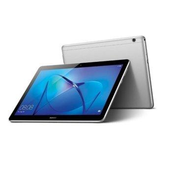 "Таблет Huawei MediaPad T3 (AGS-L09)(сив), LTE, 10"" (25.4 cm) IPS HD дисплей, четириядрен Qualcomm MSM8917 1.4GHZ, 2GB RAM, 16GB Flash памет (+ microSD слот), 5.0 & 2.0 Mpix, Android image"