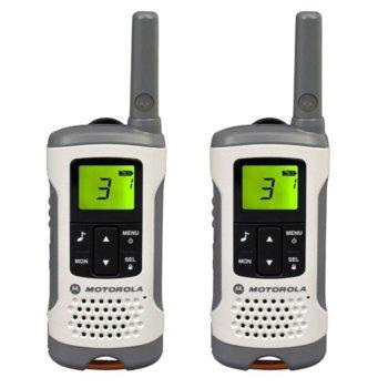 Радиостанции Motorola TLKR T50 PMR, PMR446, 8 канала, до 6 km, LCD, автоматично шумоподткискане, бяли image