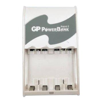 Зарядно у-во GP PB16GS, за батерии AA/AAA, 4x АА (2700 mAh) батерии/2x AAA (1000 mAh) image