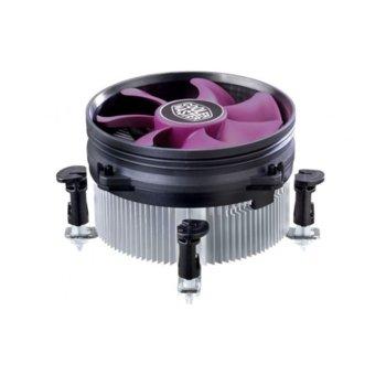Охлаждане за процесор CoolerMaster X Dream i117, Intel LGA 1156/1155/1150/775 image