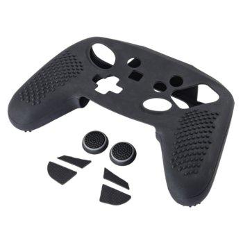 Комплект аксесоари за Nintendo Switch Pro контролери, HAMA 54649, 7in1, черни image