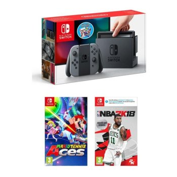 Nintendo Switch Console Sports Pack Gray product