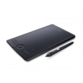 Графичен таблет Wacom Intuos Pro S PTH-460 (черен), 8192 нива на натиск, Bluetooth, USB image