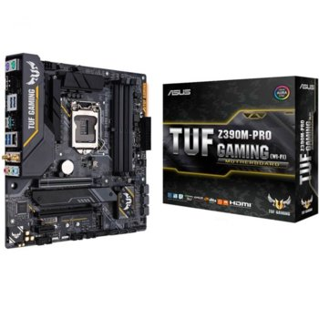 ASUS TUF Z390M-PRO GAMING WI-F product