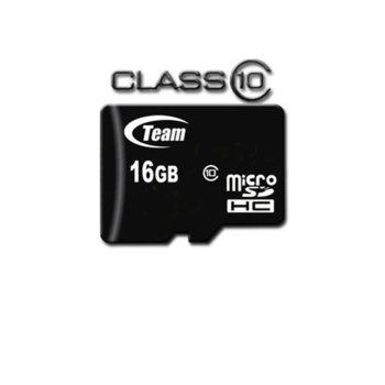 16GB microSDHC TeamGroup class 10 product